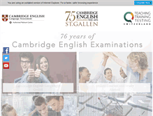 Tablet Preview of cambridge-esol-sg.ch